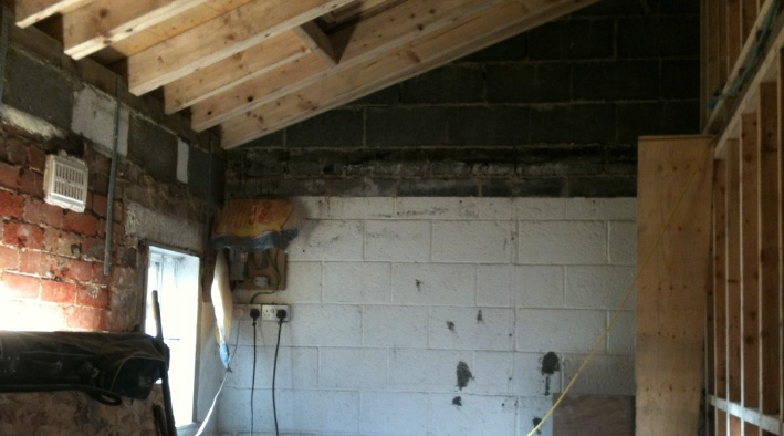 Conversion And Renovation From Workshop to 2 Bed Home Otley Before - 14