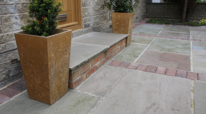 Indian Stone Paving, Otley - 2
