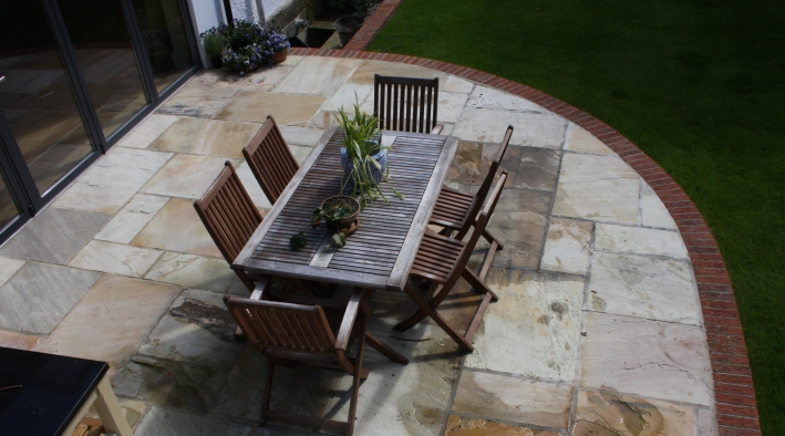 Patio, Ilkley - 2