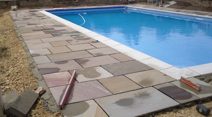 Swimming Pool & Patio, York - 1
