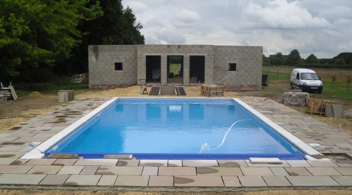 Swimming Pool & Patio, York - 2