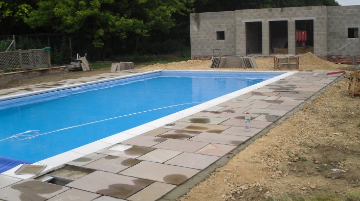 Swimming Pool & Patio, York - 3